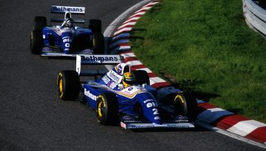 Ayrton Senna y Damon Hill