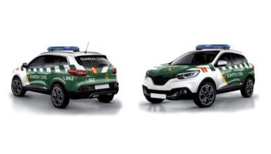 diseño coches guardia civil