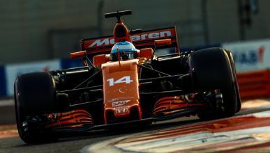 Fernando Alonso, en el GP Abu Dhabi F1