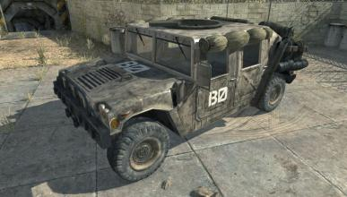 Humvee en Call of Duty