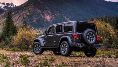 Jeep Wrangler 2018 todoterreno 4x4 off-road