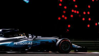 Lewis Hamilton, en los Libres 3 de Abu Dhabi