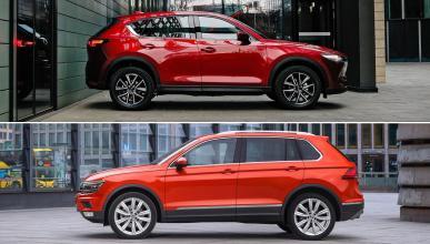 Mazda CX-5 vs Volkswagen Tiguan
