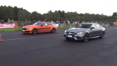 Mercedes-amg e63 s drag race