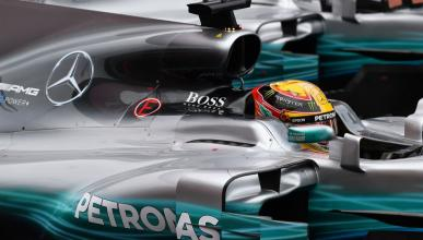 Mercedes F1 Hugo Boss