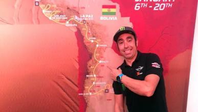 Nani Roma en la presentación del Dakar 2018