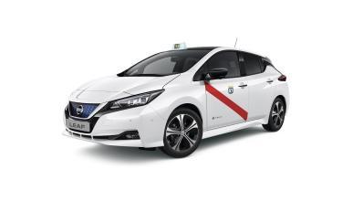 Nuevo Nissan LEAF, taxi