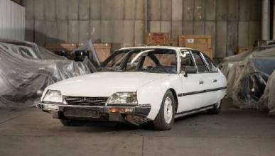 La primera subasta del Museo Heritage de Citroën
