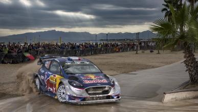 Sébastien Ogier en el Rally Cataluña