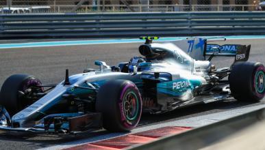 Valtteri Bottas, en la pole de Abu Dhabi