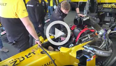 Un youtuber prueba un Renault F1