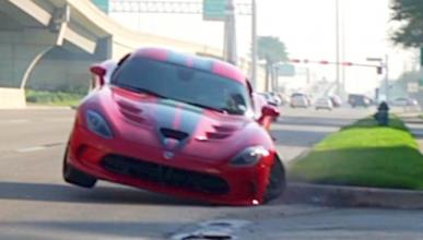 Accidente Dodge Viper