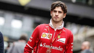 Antonio Giovinazzi, piloto de pruebas de Ferrari