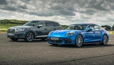 Audi SQ7 y Porsche Panamera 4S Diesel