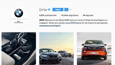 BMW en Instagram