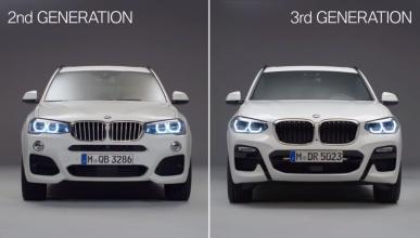 BMW X3 G01 vs BMW X3 F25
