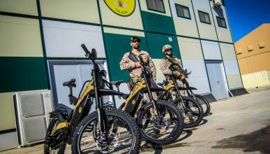Bultaco entrega las primeras unidades de su Brinco R al ejército español
