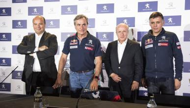 Carlos Sainz, antes del Dakar 2018