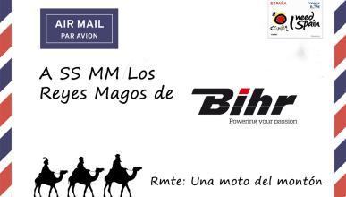 La carta a los Reyes Magos que pediría nuestra moto a Bihr