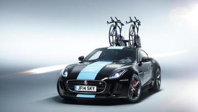 Los coches del Team Sky: Jaguar F-Type