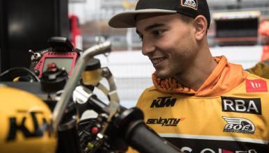 Juanfran Guevara se retira del motociclismo con 22 años