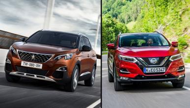 Nissan Qashqai vs Peugeot 3008