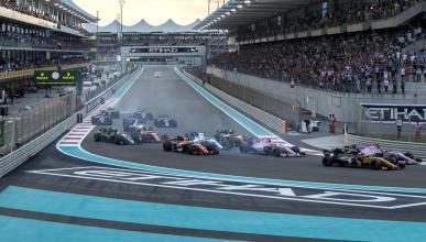 Salida GP Abu Dhabi 2017