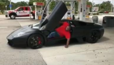 salir Lamborghini Murciélago