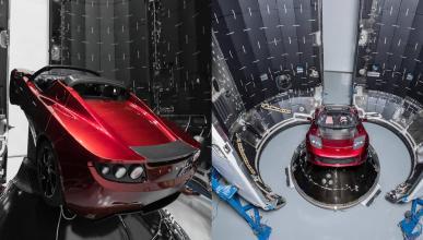 Tesla Roadster enviado al espacio