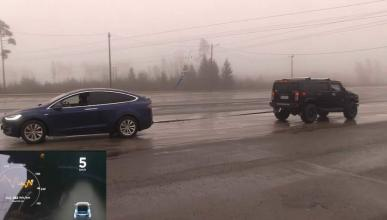 Tesla VS Hummer