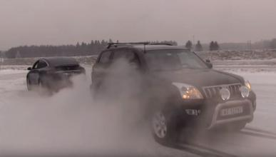 Toyota Land Cruiser vs Tesla Model X