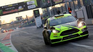 Valentino Rossi conquista el Monza Rally Show 2017