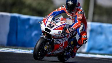 VÍDEO: Así de dura es la vida de un neumático delantero en MotoGP