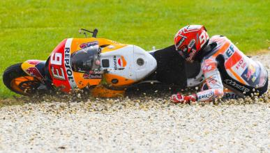 VÍDEO: Las caídas más bestias de MotoGP 2017