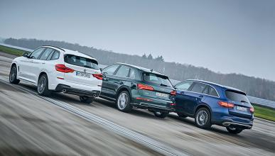 Al volante: Audi Q5/BMW X3/Mercedes GLC