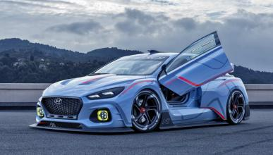 Los 5 prototipos más espectaculares de los últimos tiempos Hyundai RN30 Concept