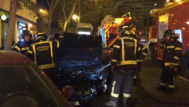 Accidente Avda Mediterráneo Madrid