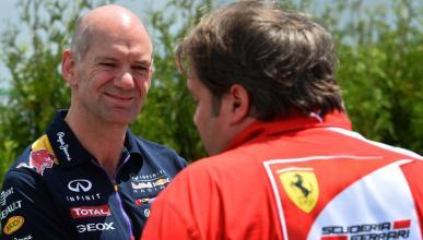 Adrian Newey y Ferrari