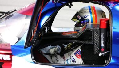 Alonso en el prototipo LMP2