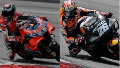 Los carenados de Honda y Ducati se parecen, y mucho