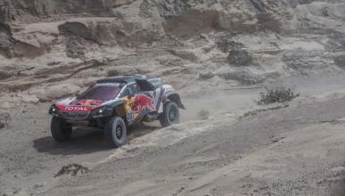 Carlos Sainz, líder del Dakar 2018