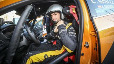 Carlos Sainz en el Rally de Montecarlo