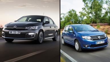 Dacia Sandero GLP vs Citroën C-Elysée GLP