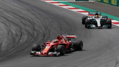 Ferrari y Mercedes en el GP Brasil 2017