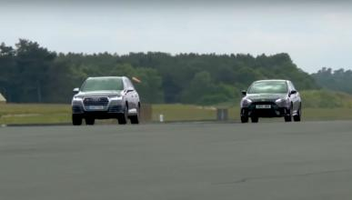 Ford Focus RS vs Audi SQ7