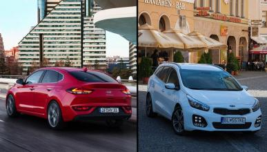 Hyundai i30 Fastback vs Kia Cee'd
