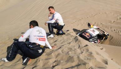Loeb y Elena abandonan el Dakar 2018