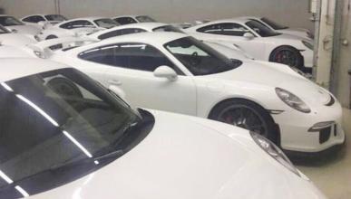 El lote con 18 Porsche 911 GT3 de 2015 que deberías querer comprar