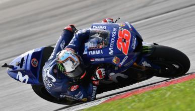 Maverick Viñales encabeza el segundo día del test de MotoGP en Sepang