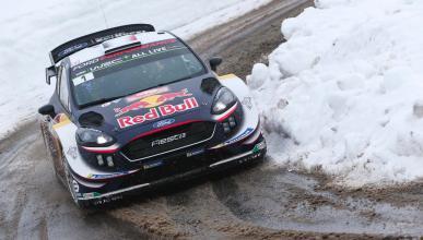 Ogier en el Rally de Montecarlo